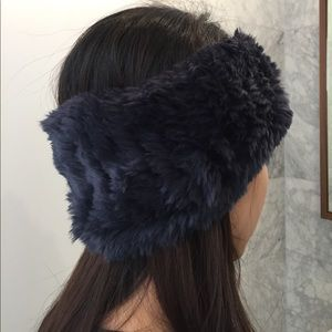 ce5ba73aa08 Saks Fifth Avenue Accessories - Saks fifth rabbit fur headband